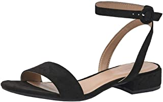 Women's Nila one Band Low Block Heel Sandal +Wide Widths Available
