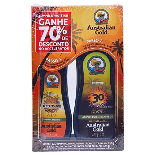 Promopack FPS 30 237ml + Acerador 125ml (70%), Australian Gold