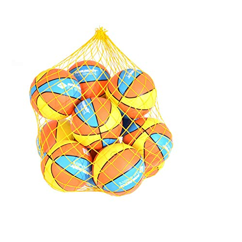 Schildkröt Fun Sports - Pelotas de baloncesto (12 unidades, 22 cm)
