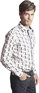 Boston Terrier Button Down Long Sleeve Shirt 2019 Collection
