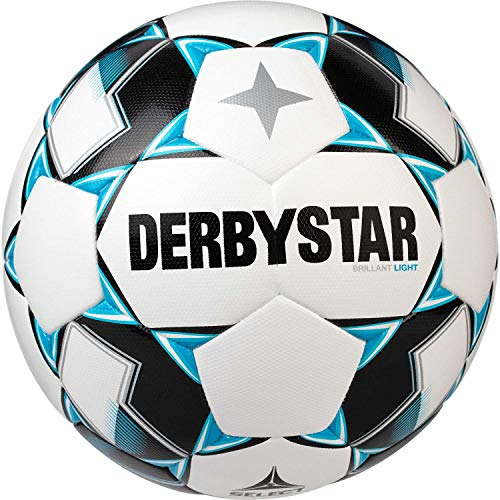 Derbystar Unisex Jugend Brillant Light DB Trainingsball, Weiss, 5