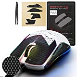 [Grip Upgrade] Hotline Games 2.0 Plus Mouse Anti-Slip Grip Tape for Glorious Model O / Model O Wireless Gaming Mouse, Professional Upgrade Kit,Sweat Resistant,Cut to Fit,Easy to Use (with Tweezers)