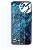 Bruni Schutzfolie kompatibel mit TP-Link Neffos X20 Pro Folie, glasklare Bildschirmschutzfolie (2X)