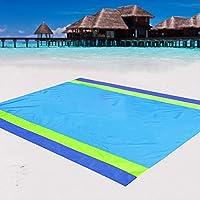 Aisparky Beach Outdoor Picnic Sandproof Blanket