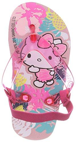 HELLO KITTY Mädchen HK Habla ELASTI Pantoletten, Pink (Pink), 22 EU
