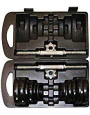 Dumbbell Weightlifting with a bag, 20 kg