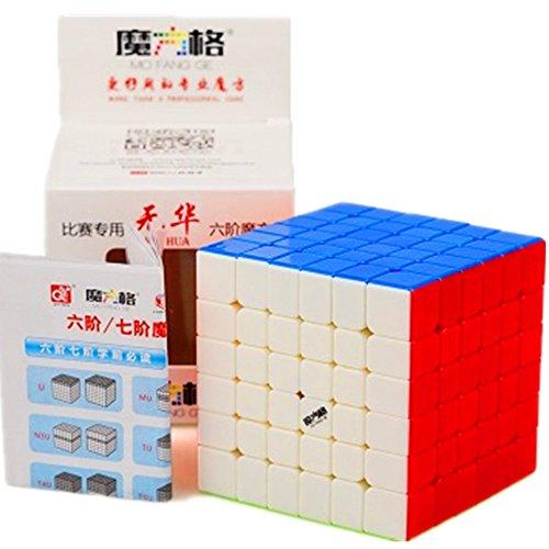 cuberspeed Qiyi Wuhua Stickerless Magic Cube Mo Fang Ge Wuhua Color Speed Cube