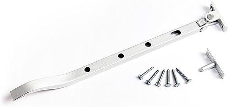 "6 x Casement Stay Sets Aluminium 300MM (12"") met fittingen"