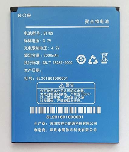 Batteria compatibile con Zopo C2/2A/C3/ZP980 | Capacità 2000 mAh | BT78S