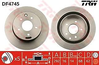 TRW Automotive AfterMarket DF1745 disco de freno