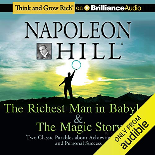 The Richest Man in Babylon & The Magic Story copertina