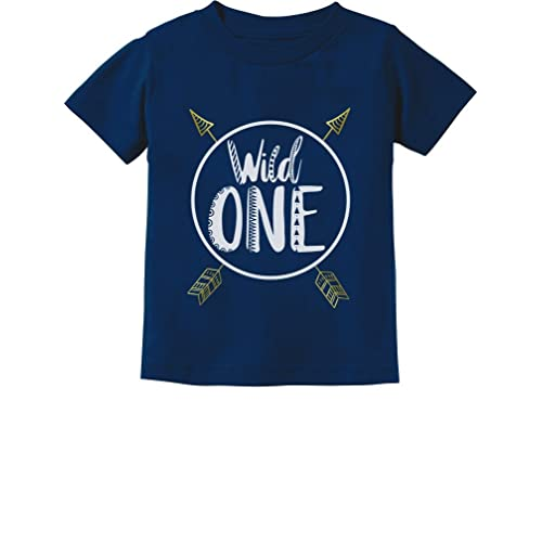 Wild One Baby Boys Girls 1st Birthday Gifts Year Old Infant Kids T Shirt