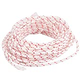 Recoil Starter Rope 12-Meter, Diameter: 3.5mm, Pull Cord for Husqvarna STIHL Sears Craftsman Poulan Briggs Stratton Lawn Mower Chainsaw Trimmer Edger Brush Cutter Engine Parts
