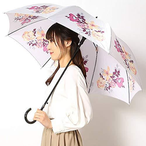ミラ・ショーン(雑貨)(mila schon) 雨傘(長傘/ジャンプ傘)【グラス骨/耐風】花柄 (レディース)【...