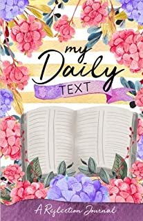 Daily Text Reflection Journal