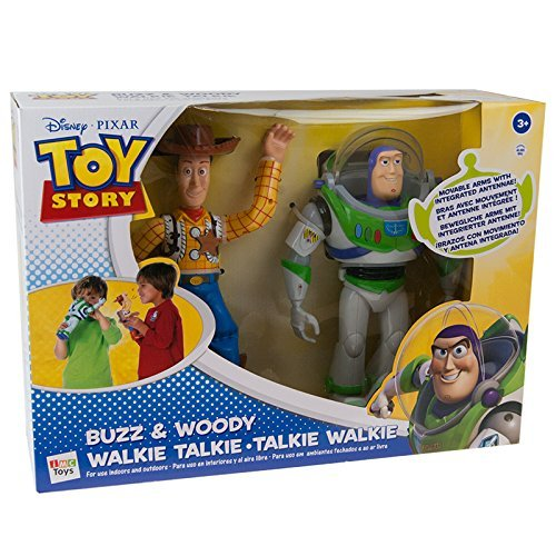 IMC Toys Toy Story Walkie Talkie Personaggi, Multicolore, 140400