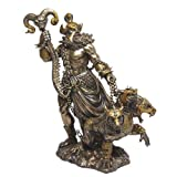Pacific Giftware Greek God of Underworld Hades with Cerberus Dog Statue Roman Figure