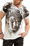 trueprodigy Casual Homme Tee Shirt Motif imprimé, Vetements Swag Marque col Rond (Manche Courte & Slim fit Classic), t-Shirt Mode...