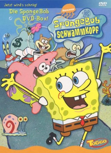 SpongeBob Schwammkopf (Box Set, 3 DVDs)