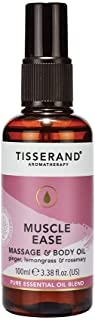 Tisserand Muscle Ease Massage and Body Oil 100 ml, 100 milliliters