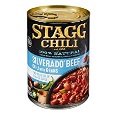 16 grams of protein per serving 100% Natural; no artificial ingredients, Minimally processed Easy pull top Perfect for bowls, dips, dogs, and appetizers Two-bean beef tomato chili