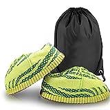 FRENCH HYPE - Zapatillas deportivas para hombre y mujer, diseño de zapatillas de estilo Yeezy en 3 colores (talla única 36 a 43), Verde (verde), 43 1/9 EU Large