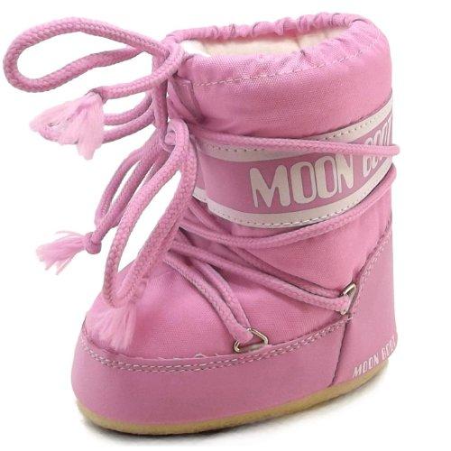Moon Boot by Tecnica mini nylon 14004300-063 winterlaarzen voor kinderen, roze, maat 19-22 EU / 3-5,5 UK C