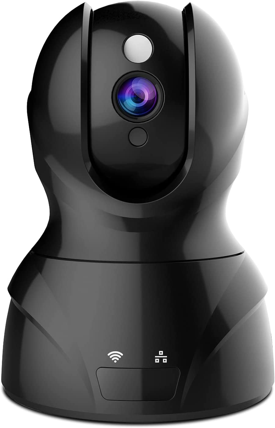 Security Camera 1080P WiFi Dog Pet Camera - Wireless Indoor Pan/Tilt/Zoom Home Camera Baby Monitor IP Camera with Motion Detection Two-Way Audio, Night Vision - Cloud Storage