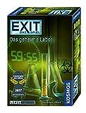 KOSMOS 692742 - EXIT - Das Spiel - Das geheime Labor, Kennerspiel des Jahres 2017, Level: Fortgeschrittene, Escape Room Spiel