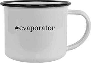 #evaporator - 12oz Hashtag Stainless Steel Camping Mug, Black