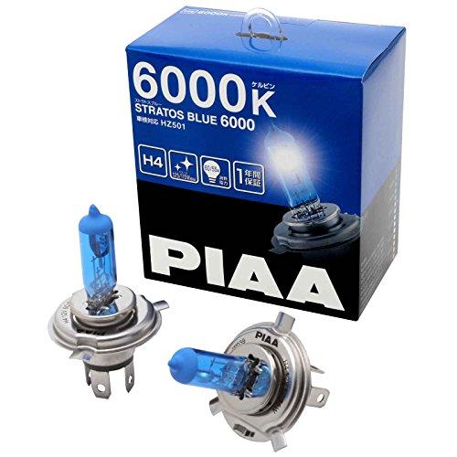 PIAA Stratos Blauw H4 Auto Vervangende Koplamp Lampen (Twin) - HZ501