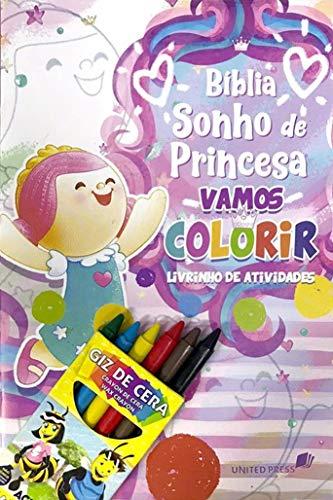 Vamos colorir: Livrinho de atividades - Bíblia sonho de princesa