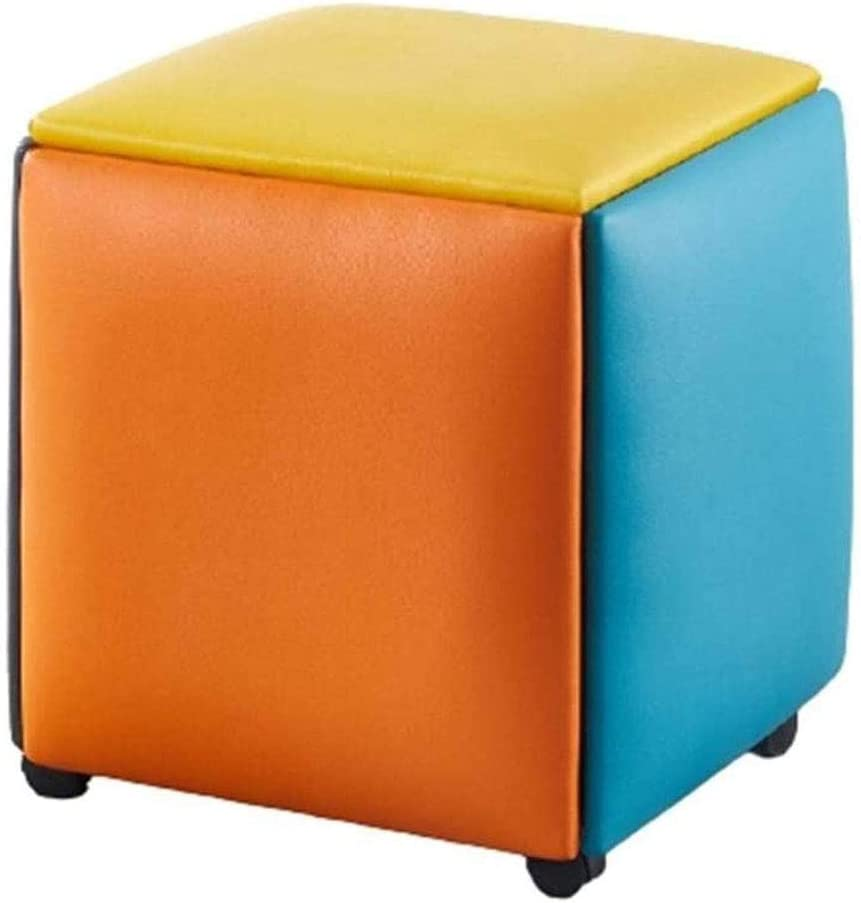 Stackable Sofa Chair Stool Storage in Footstool 5 Selling rankings Home Footrest Ranking TOP5