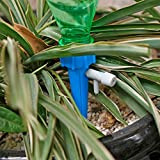 CandyTT Dispositivo de riego automático Válvula de Control del Interruptor Dispositivo de Goteo de filtración de Agua Riego por Goteo Dispositivo de riego automático Perezoso (multicolor12pcs / Set)