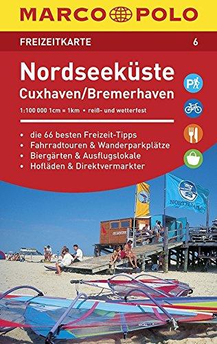 Marco Polo FZK06 Cuxhaven-Noordzeekust: Toeristische kaart 1:100 000