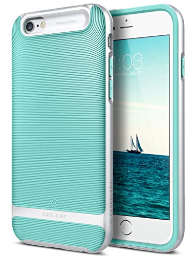 Caseology Wavelength for Apple iPhone 6S Plus Case (2015) / for iPhone 6 Plus Case (2014) - Mint Green