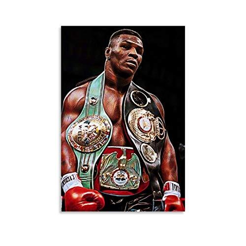 DSGFR Mike Tyson 2 Boxing Master Poster, dekoratives Gemälde, Leinwand, Wandkunst, Wohnzimmer, Poster, Schlafzimmer, Gemälde, 30 x 45 cm