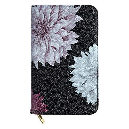 Ted Baker Travel Documents Holder, Faux Leather, Gold, One Siz