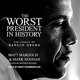 The Worst President in History audiobook cover art
