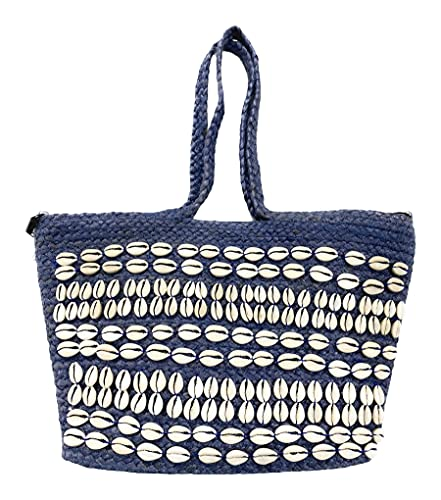 Alex max - Bolsa de conchas marinas bordada a mano