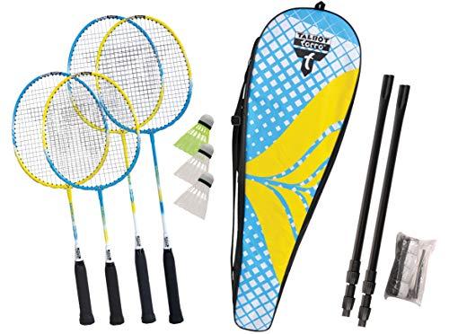 Talbot Torro Unisex– Erwachsene Badminton-und Federball, Family Set, 449407, One Size