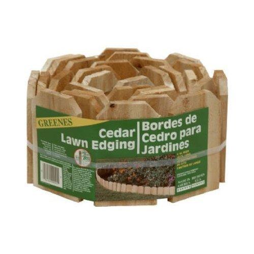 "Greenes Lawn Edging 6 "" X 10 ' Cedar Bulk"