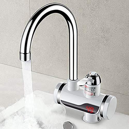 YAYY boiler 220V 3000W elektrische waterkraan met temperatuurweergave keuken warmwatermaker waterelement elektrische verwarming waterkraan A2 (upgrade)