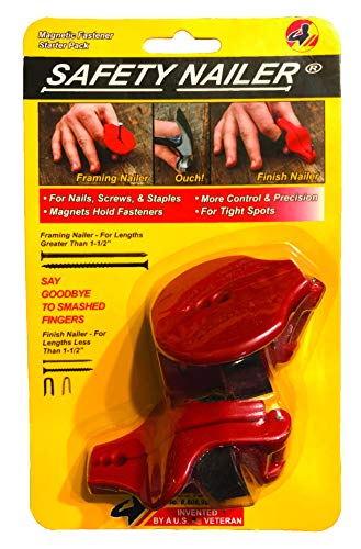 Safety Nailer Combo-Pack - For Nails, Finish Nails, Screws and Staples