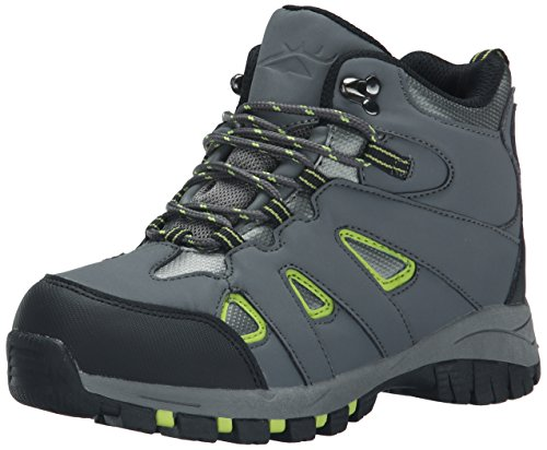 Boys Deer Stags Drew Water Proof Hiker Boots - Gray 4.5