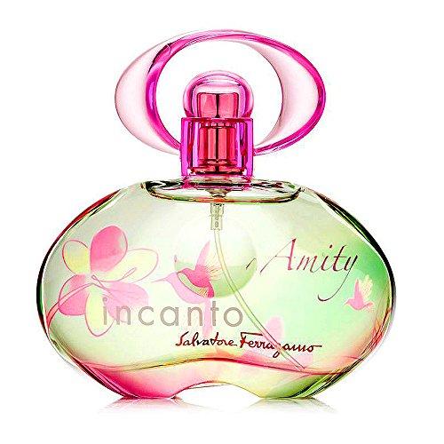 Salvatore Ferragamo Incanto Amity Eau de Toilette Spray for Women, 3.4 Fluid Ounce