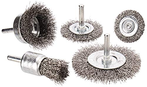 Free shipping anywhere in the nation Pack of 3 40-pc. sale Brushes Wheel Wire