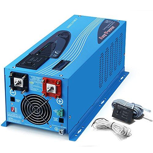 SUNGOLDPOWER 3000W Peak 9000W Pure Sine Wave Power Inverter DC 24V AC...