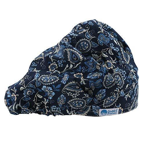 GUOER Hat Bouffant Cap One Size Multi Color (Color22)