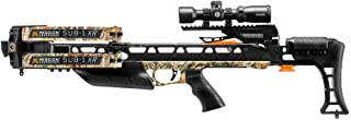 Mission Crossbow SUB-1 XR   Realtree Edge   Camo   Hunting Pro Kit   with Hawke Scope, Quiver, Cocking Rope, 3 Arrows, Soft Case, String Wax Package   410 FPS